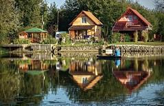 Reflection.. (tferi666) Tags: autumn beautiful nice sony ilce next a6300 hungary magyar zempln berek bodrog bodrog ngc sonyflickraward sonyflickrawardgold 18105mm