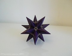 Barbed star (mancinerie) Tags: origami paperfolding modularorigami francescomancini mancinerie