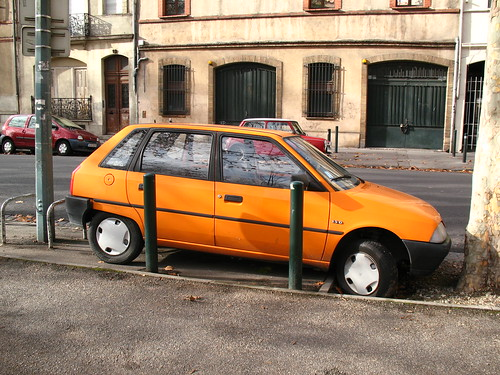 French style parking