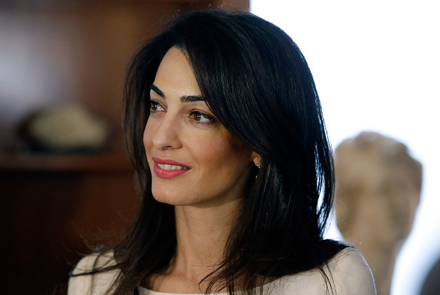 Amal Clooney not pregnant