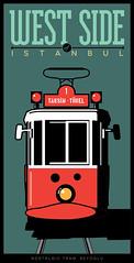 BEYOLU TRAMVAY (cim21) Tags: west illustration turkey trkiye tram istanbul taksim vector beyoglu tramvay bat avrupayakas illstrasyon vektr