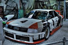 Audi 90 quattro IMSA-GTO (abgedafoto) Tags: old museum canon eos turbo 1989 audi efs hdr quattro b3 18135mm 5zylinder 700d audi90 imsagto