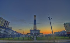 Atlantic City: Absecon Lighthouse sunrise (cmfgu) Tags: atlanticcity ac newjersey nj atlanticcounty abesconlighthouse sunrise hdr highdynamicrange craigfildesfineartamericacom