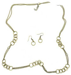 5th Avenue Brass Necklace P2441A-1
