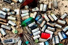 Spent Cans (Photographing Travis) Tags: sanfrancisco graffiti bay flickr treasureisland spraypaint cans svflickr year2006 cameracanoneosdigitalrebelxt