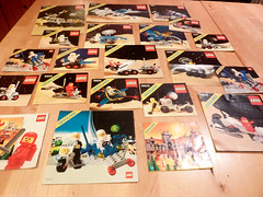Classic Space Instructions (JonHall18) Tags: classic vintage lego space instructions