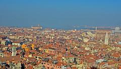 Venetian Skyline (adam0991) Tags: venice red skyline campanile sanmarco ialy teracotta