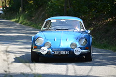 Alpine A110 (benoits15) Tags: car french automobile rally automotive voiture alpine coches rallye a110 berlinette cigalois