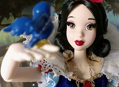 With a Smile and a Song (ozthegreatandpowerful) Tags: white snow store doll ds disney le 5000 limited edition 2009