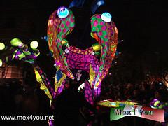 Desfile Nocturno de Alebrijes. (jarsphe) Tags: mexicana arte map desfile museo popular nocturno alebrijes iluminados cartoneria