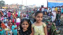 Kirti & Samridhi attending festival (Rohit Tulsiyan) Tags: pooja indianfestival chhath biharfestival