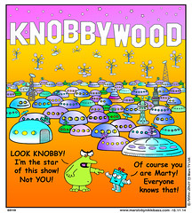 Knobbywood (nikkibass20) Tags: new original mars color colour cute television robot tv cool funny comedy comic different contemporary space humor cartoon ufo pop fresh aliens nasa entertainment jokes friendly planet animation planets series marty et strips extraterrestrial martian toons spaceships entertaining martians viral knobby marstv nikkibass