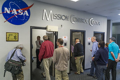 Entering NASA Mission Control