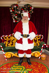 Santa Claus (Meets on Main Street during Holiday Season)
