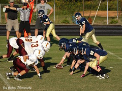 Play (AppStateJay) Tags: school sport football action thomas sony classical jefferson middle athlete academy bishop defense 2014 offense mcguiness bishopmcginnis tjca dschx300 sonydschx300 thomasjeffersonclassicalacademy