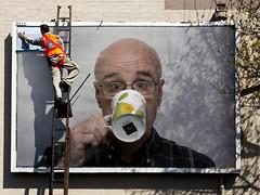 replacing_billboard_advert (Leo Reynolds) Tags: webthing photofunia xleol30x xxx2014xxx