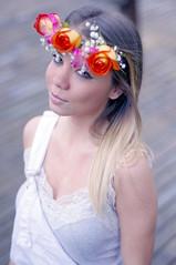 (nathymunaro) Tags: portrait woman flores color colour colors digital photography photo amazing cool women retrato colori ritratto coroadeflores womenportrait womenfaces