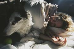 Mam (Clara Aram.) Tags: morning light dog mom claraaram