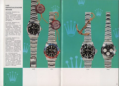 Vintage - 1980's 04 (zoccoli geta) Tags: sea 2 turn advertising day o jubilee explorer ad deep graph just master ii booklet oyster date daytona brochure rolex submariner perpetual gmt dweller cosc cosmograph