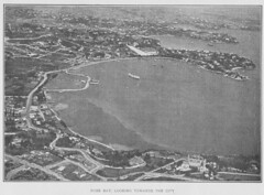 Rose Bay  - Aeroviews of Sydney  (Jan. 1920) by  Ross Smith and Frank Hurley 1920 (AndyBrii) Tags: sydney 1919 1920 hmas rosssmith aerialphotos frankhurley englandtoaustralia tingira
