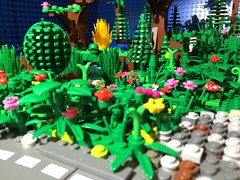 The Camouflaged Soldier (woodrowvillage) Tags: forest toy soldier photography woods lego story camouflage legos moc minifigures ninjago