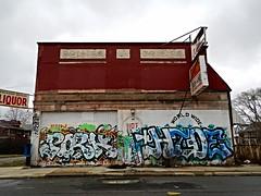 Pork x Hide (piecesofdetroit) Tags: street streetart art graffiti detroit pork hide friday graffitiart motorcity graffitiwriters detroitgraffiti downforwhatever germanfriday piecesofdetroit