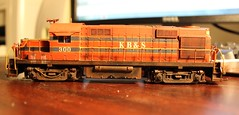 KB&S Alco I've been working on (Jesse B - IL) Tags: scale model rr atlas ho kbs