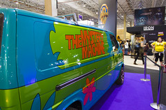 The Mistery Machine (thalesprestes) Tags: brazil anime nerd comics do comic geek cosplay machine warner experience movies paulo doo so con mistery 2014 sccoby scoby ccxp