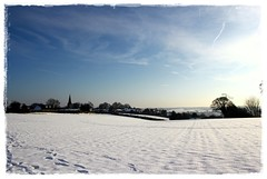 (David Ward4) Tags: snow snowy fields ashfield kirkby titchfield