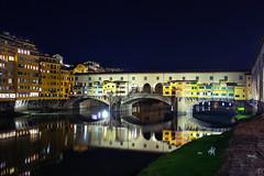 Firenze, Ponte Vecchio (MaOrI1563) Tags: italy river florence italia fiume tuscany firenze arno toscana pontevecchio fiumearno firenzebynight florencebynight pontevecchiobynight pontevecchiodinotte maori1563