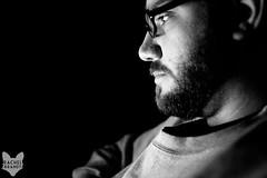 January 1 : Man in Black (RachelBrandtPhotography) Tags: family blackandwhite bw man guy glasses sandiego husband guyswithglasses rachelbrandt rachelbrandtphotography