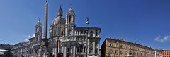 Panorama 15 (J Chau) Tags: italy vatican rome fountain steps spanish column piazza trajan colisseum navona trevis