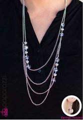 5th Avenue White Necklace K1A P2610A-1