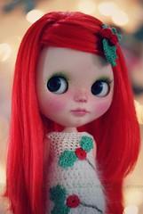 A Doll A Day. Dec 21. Holly