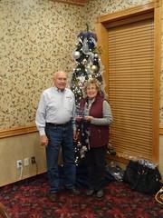 Laurie KF7DKM wins President Award