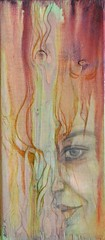 Evolve I (Fatima Kazmi) Tags: wood art painting acrylic oil visual fatima woodstain kazmi