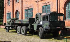 Retired Bundeswehr truck (Schwanzus_Longus) Tags: old man classic 6x6 museum truck vintage germany army support military tram hannover cargo camo german vehicle retired gl lastwagen bundeswehr lkw 7to