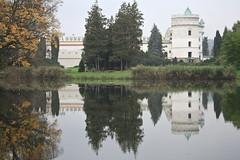 Krasiczyn, Podkarpacie Poland (LeszekZadlo) Tags: old building castle history monument architecture grey europe gray eu poland polska polen historical fortifications polonia ue pologne
