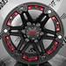 TUFF T01 / BLACK FOSCO RED