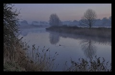 River Weaver Morning Mist (Keo6) Tags: winter mist cold river weaver