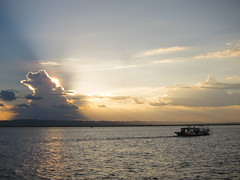 Sunset on the Irrawaddy (jleathers) Tags: