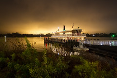 Magic Kingdom - Transportation Boat (myfrozenlife) Tags: trip travel vacation usa holiday night america canon boat orlando unitedstates florida disney disneyworld 7d magickingdom