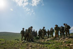 Givati Brigade Simulates Combat on the Northern Border (Israel Defense Forces) Tags: infantry army israel exercise military soldiers combat idf jordanvalley givati israeldefenseforces givatibrigade