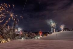 DSC_0147 (Hilzensauer Foto) Tags: light snow landscape licht december sylvester fireworks snowy firework newyear landschaft silvester feuerwerk