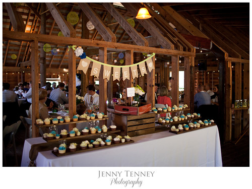 """A wedding cupcake display at Lake Eden Events. • <a style=""""font-size:0.8em;"""" href=""""http://www.flickr.com/photos/50891271@N03/16348067415/"""" target=""""_blank"""">View on Flickr</a>"""
