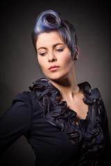 Colour Wave (Dan Baillie) Tags: portrait colour girl hair wave