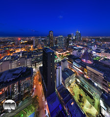 Melbourne Sky high (kenneth chin) Tags: city blue yahoo google twilight nikon australia melbourne victoria nsw nikkor verticalpanorama digitalblending d810 1424f28g