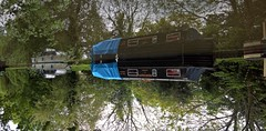 Wey Navigation Byfleet 19 May 2016 112 (paul_appleyard) Tags: reflection de boat canal upsidedown may surrey reflected inverted printemps navigation narrowboat waterway wey dorothe 950 2016 lumia byfleet