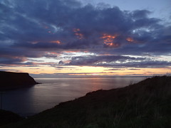 Gamrie Bay 1 (Saf37y) Tags: sunset sea clouds coast scotland aberdeenshire seashore morayfirth gardenstown gamriebay