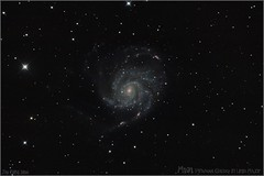 M101 pinwheel in Ursa Major (__Aenima__) Tags: canon 350d galaxy astrophotography astronomy dslr m101 altair rc6 deepskyobject astronomik